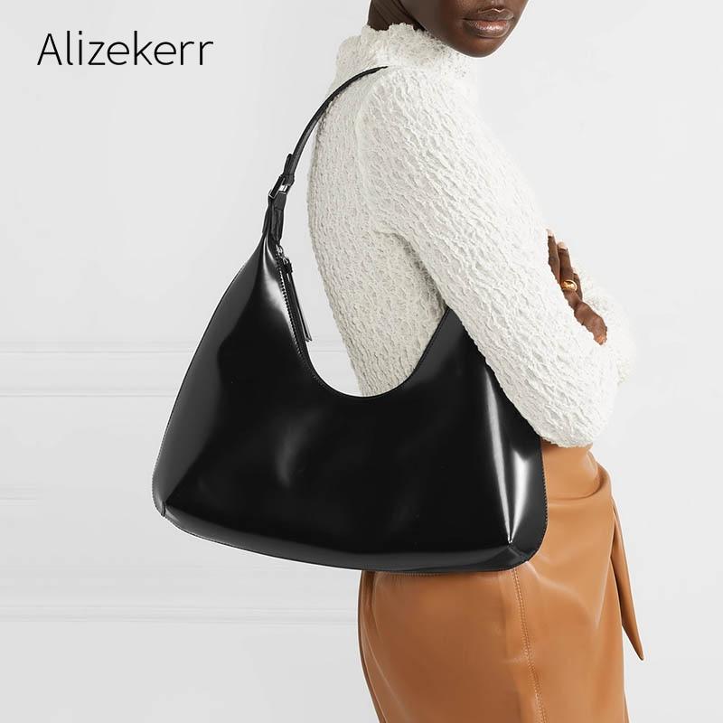 High Capacity Shoulder Bag Women New Fashion Designer Simple Underarm Candy Tote Large Handbag Green Purse Casual Bolsa Feminina