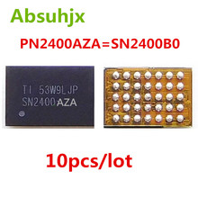 Absuhjx 10pcs sn2400b0 sn2400 pn2400aza ic for iphone 6 6 plus 35pin u1401 usb 충전 제어 tigris ic
