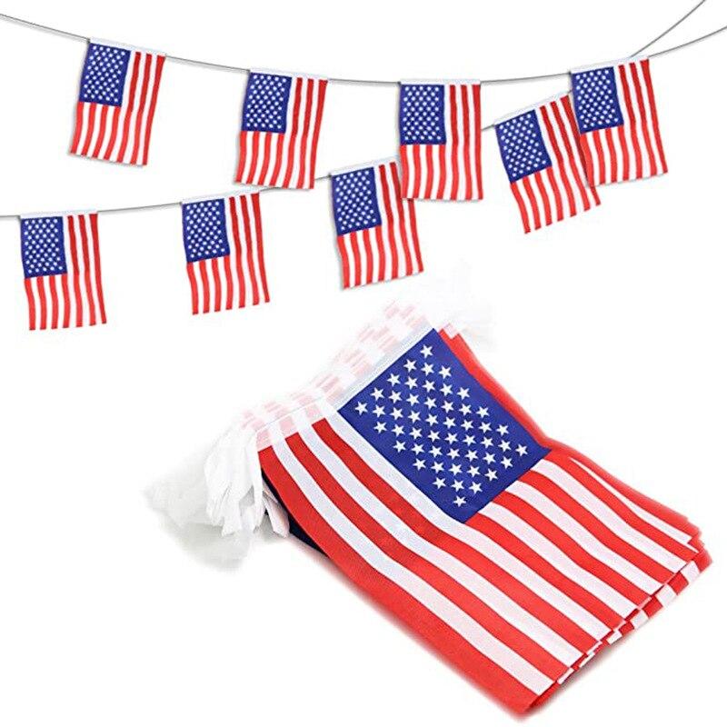 20 шт., флаги США, флаги США, 14 х21 см