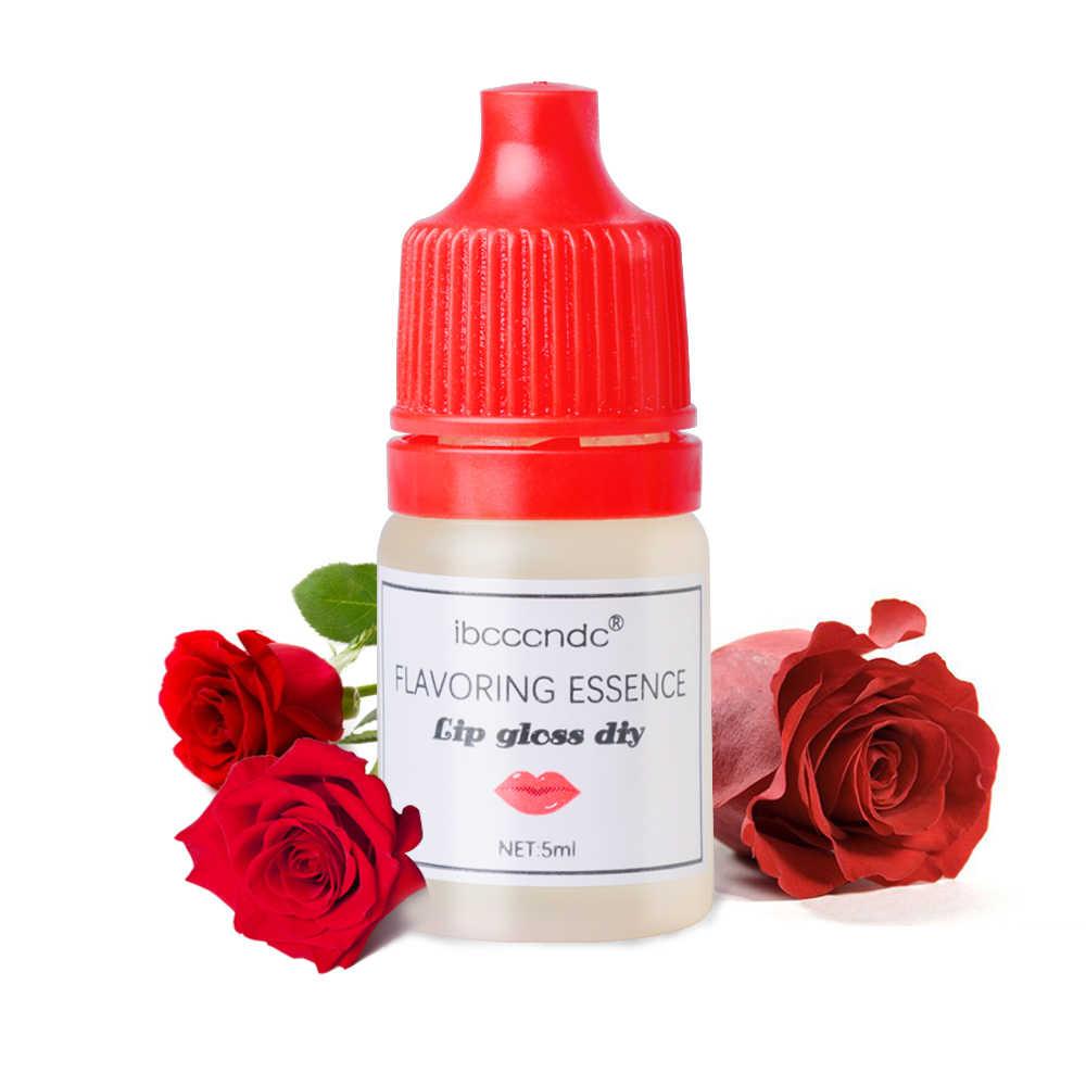 รสธรรมชาติ Essence สำหรับ Handmade เครื่องสำอางค์ลิปกลอส Lipgloss DIY เกรดอาหารน้ำหอมกลิ่นน้ำมันหอมระเหย 7 รสชาติ
