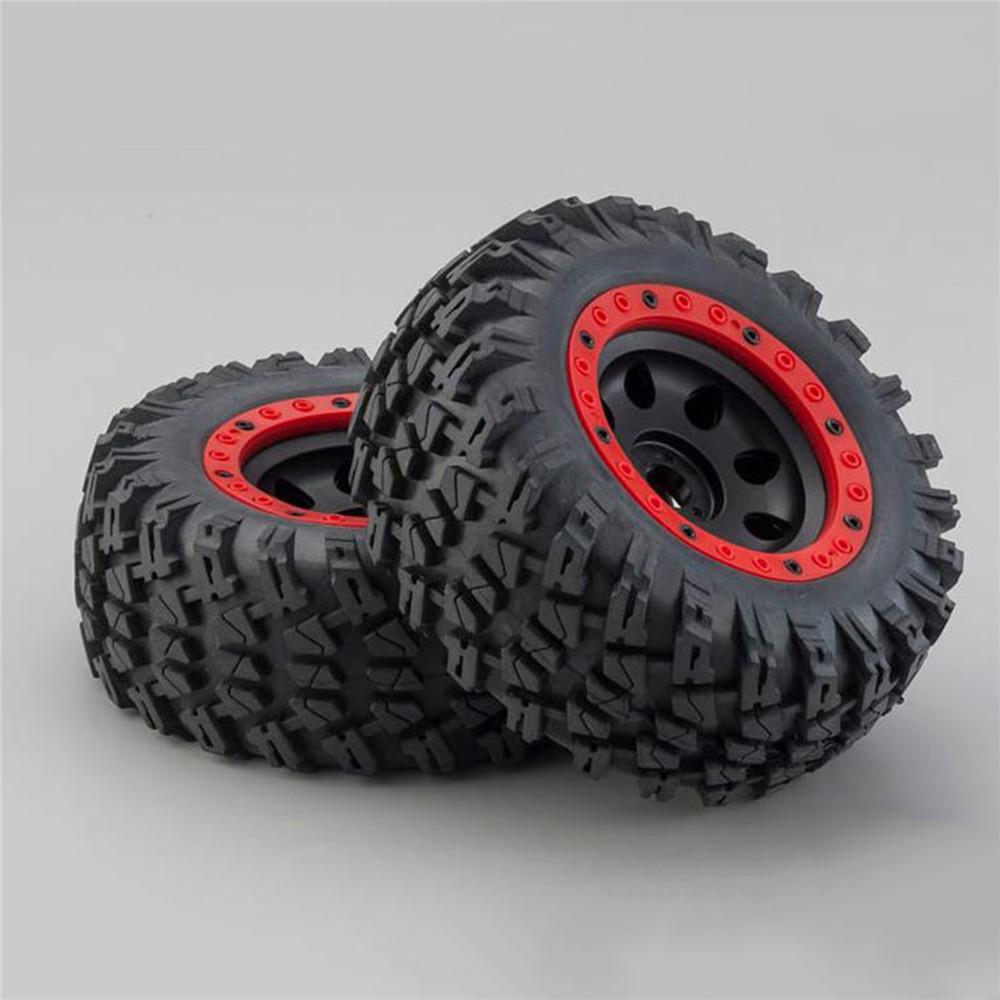 17mm Big Tires without Paste for 1:7 Traxxas UDR Unlimited Desert Racer Tires 135mm RC Car Truck Parts