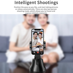 Image 3 - TISHRIC Gimbal Selfie Stick Tripod/Bluetooth Rotation Face Camera Phone Holder/Stand for Smartphone 360 Object Tracking Holder