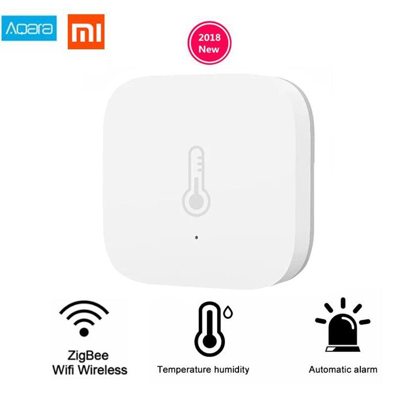 Xiaomi Mi Aqara Sensore di Umidità di Temperatura Ambiente di Aria Pressione Norma Mijia Casa Intelligente Zigbee Controllo Senza Fili da Mihome Gateway