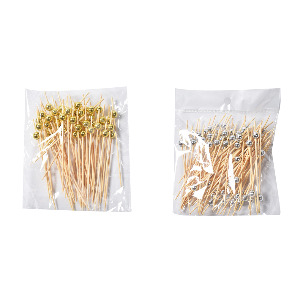 2.5mm*25cm Kabob 90 Pcs Barbecue Skewers Kebab Long Wooden Skewers Sticks Non-toxic Bamboo Skewers for BBQ Sausage 25cm Grill Party Bonfires