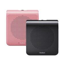 K10 Draagbare Voice Versterker Megaphone Booster Met Bedrade Microphone Luidspreker Speaker MP3 Leraar Training Megaphone