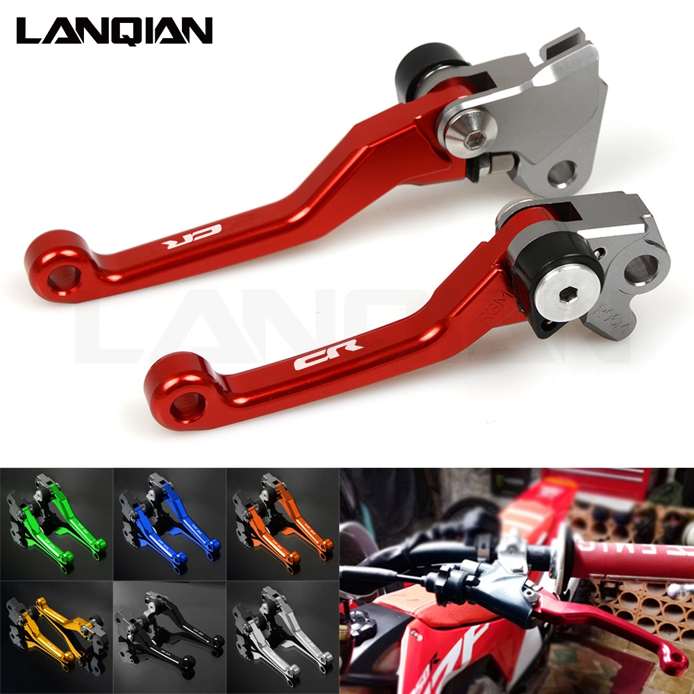 Dirt Bike Pivot Lever Brake Clutch Lever For Honda CR80 85 125R 250R <font><b>CRF</b></font> 150F 150L 150R <font><b>CRF</b></font> 250R 450R <font><b>CRF</b></font> 250 X L M <font><b>450X</b></font> CRF230F image