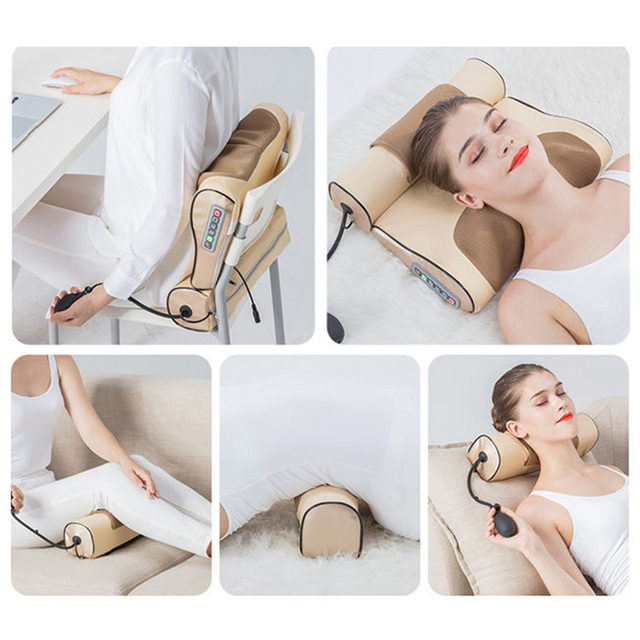 Neck Massage Pillow Electrical Neck Roller  6