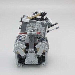 Image 4 - 05126 Star Wars serisi İlk sipariş İzci Walker seti modeli yapı taşları ile uyumlu lepining 75177 75188 DIY çocuk oyuncaklar