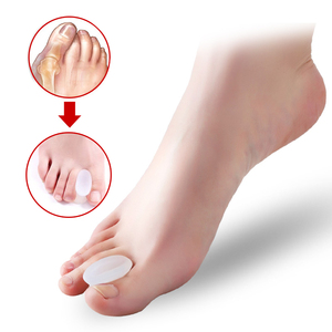 Image 1 - 1Pcs Hallux Valgus Splint Correction Bicyclic Bunion Thumb Orthopedic Bone Big Toe Separator Finger Pedicure Foot Care Tool