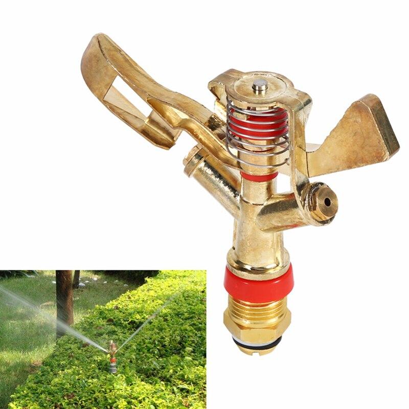 1pc Legierung 360 Grad Rotierenden Rasen Sprinkler Rasen Garten Bewässerung Rocker Sprinkler
