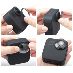 Image 4 - 2 PCS Camera Protective Lens Cap For GoPro Max Protector Cover for Go pro Max Action Camera Accessories