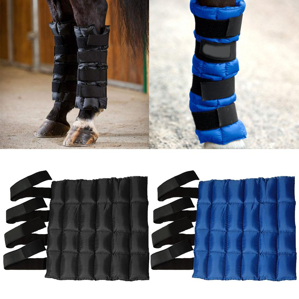 Horse Ice Cold Pack Leggings Cooling Boot Bag Equestrian Leg Guard Protector Horse Ice Cold Pack Leggings Cooling Boot Bag Eques
