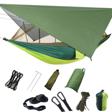 Lixada Hammock Tent with Mosquito Net Camping Tents Lightweight Nylon Portable for Backpacking