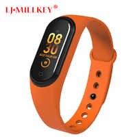 M4 Smart Band Fitness Tracker VS M4 Smart Bracelet Blood Pressure Heart Rate Monitor Smartband Smart Bracelet New