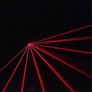 Image 3 - AUCD מיני IR מרחוק 8CH DMX 100mW אדום לייזר DPSS מקרן אורות דיסקו DJ חג המולד המפלגה להראות קרן סריקה שלב תאורה DM R100