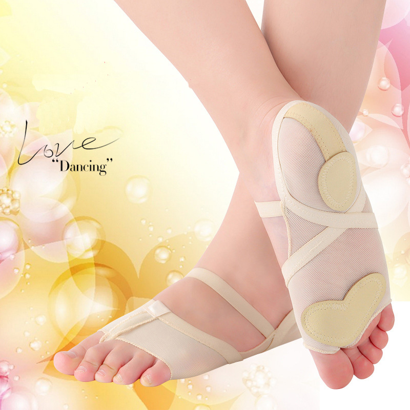 USHINE Ladies Lyric Dance Shoes Practice Yoga Shoe Foot Thongs Footundeez For Modern Dance Socks Gymnastic Sandals Ballet
