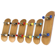 Fingerboard Maple Wooden Sport-Game Kids Children 6-Colors No with Box Deck Gift Novelty