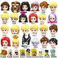 Знаменитый фильм, строительные блоки, принцесса, принц, экшн-фигурки, образовательные блоки для девочек, игрушки для детей, F002-F025