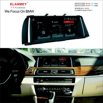 Elanmey Car Multimedia For BMW 5 Series F10 F11 2011 2012 head unit Android 9.0 touch screen radio navigation GPS tape recorder