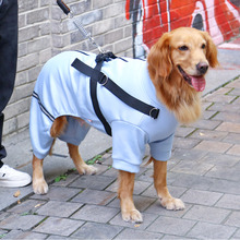 Coat Clothing HOOPET Outfit Pet-Dog-Jacket Dogs for Big Medium with A-Traction-Hole