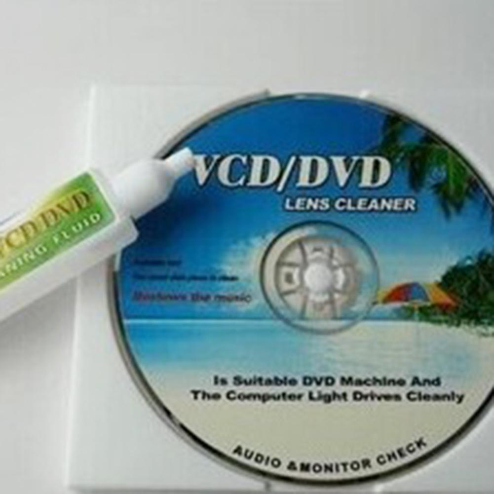 VCD DVD Player Lens Cleaner Dust Dirt Removal Cleaning Fluid Disc Restore Kit 2019