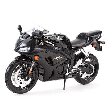 цена на Maisto 1:12 Honda CBR1000RR Black Diecast Alloy Motorcycle Model Toy