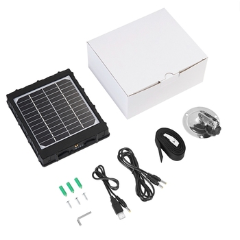 Solar Panel Solar Power Charger for 4G Hunting Camera