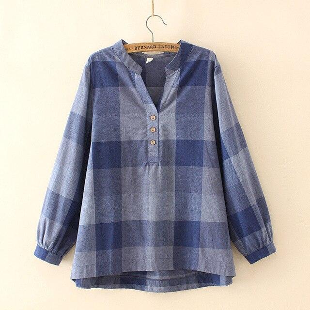 Фото женская рубашка в клетку с v образным вырезом цена