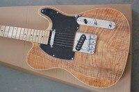 Tiger Flame Maple Top Custom Shop Firehawk Maple Fingerboard Basswood Body Standard Electric Guitar Chrome Hardware 2014121