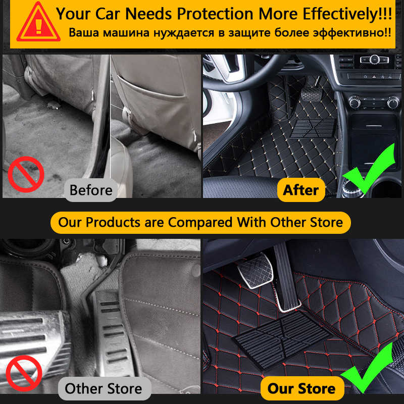 2010 Volkswagen Touareg Black with Red Edging Driver /& Passenger Floor GGBAILEY D50780-F2A-BLK/_BR Custom Fit Car Mats for 2007 2009 2008