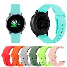 Ремешок силиконовый для samsung galaxy watch 46 мм 42 цветной