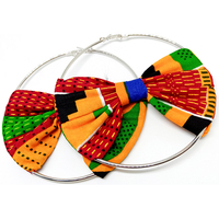 African print Earrings african jewelry Ankara earrings african accessories Wax Print Fashion Earrings African wax cloth earrings
