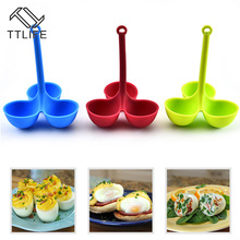 Boiler Steamer Egg-Holder Breakfast-Tools Cooking-Accessories Poacher Silicone Kitchen