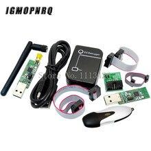 Tablero inalámbrico con Bluetooth, módulo captura PROGRAMADOR USB, Cable de descarga, CC2531, CC2540, Zigbee