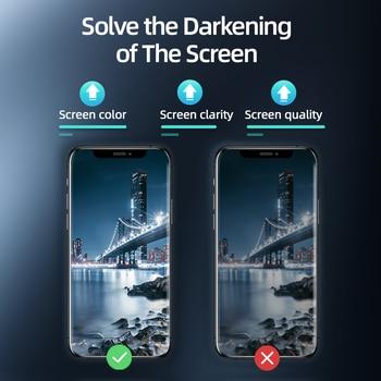 Защитное закаленное стекло для iPhone 12 11Pro Max X XS MAX XR 4