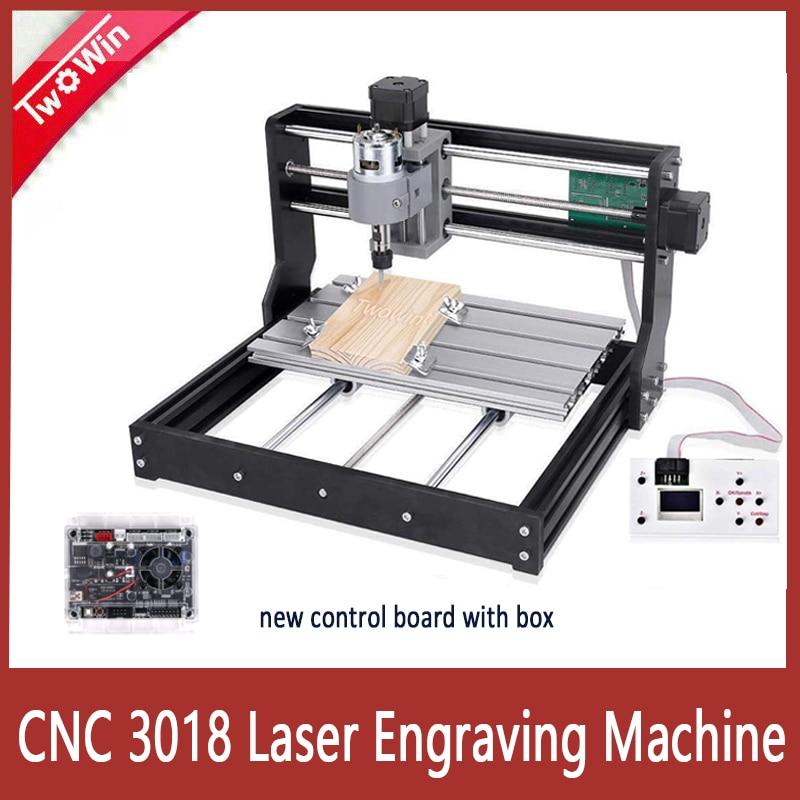 CNC 3018 Pro лазерный гравер 10 Вт/15 Вт Лазерный фрезерный станок с ЧПУ 3 оси GRBL контроль лазерный гравировальный станок DIY деревообрабатывающий ст...