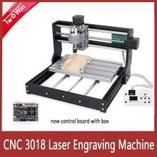 CNC 3018 Pro Laser Engraver 10w/15w Laser CNC Milling Machine 3 Axis GRBL Control Laser Engraving Machine DIY Wood Router