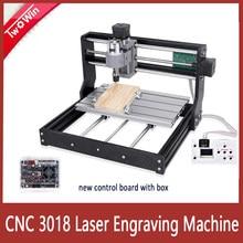 Cnc 3018 pro laser gravador 10w/15w laser cnc fresadora 3 eixos grbl controle máquina de gravura do laser diy roteador madeira
