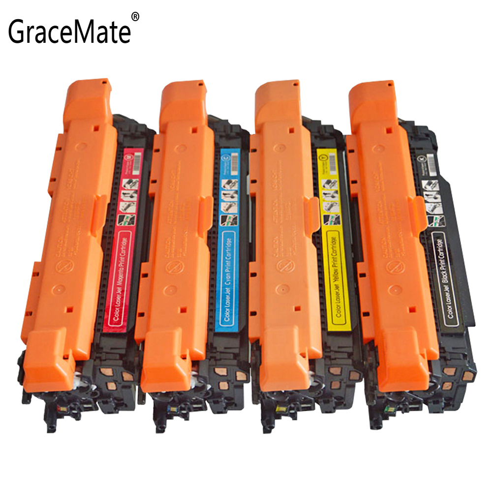 GraceMate <font><b>Toner</b></font> Cartridge 201A CF400A CF401A CF402A CF403A Compatible for <font><b>HP</b></font> LaserJet M252n M252d M277c6 M277n <font><b>M277dw</b></font> <font><b>Printer</b></font> image