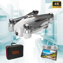 GW90 GPS Drones with 4K Camera HD Adjustable Gimbal Brushless Follow Me Wifi Qua