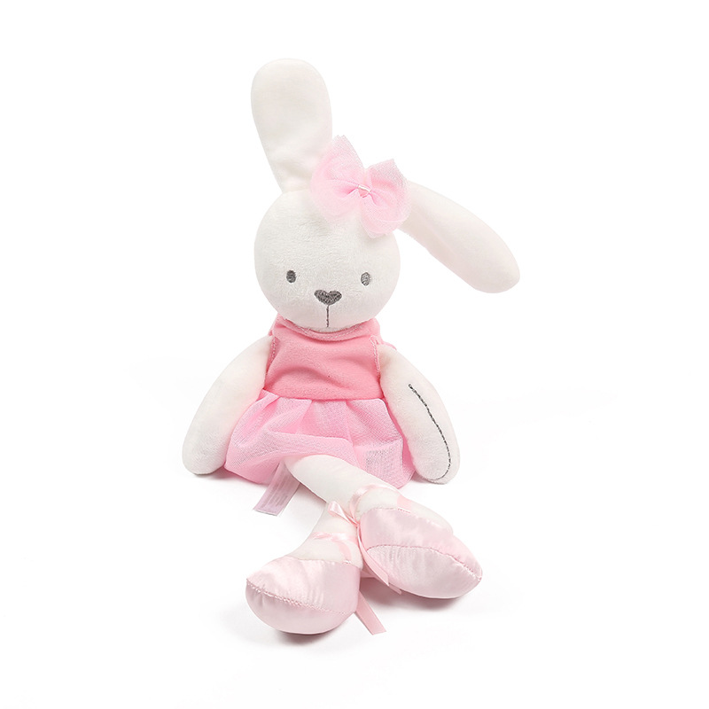 Cute Rabbit Doll Baby Soft Plush Toys For Children Bunny Sleeping Mate Stuffed &Plush Animal Baby Toys Infants Ce Certificate