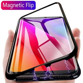 Θήκη από μαγνητικό μέταλλο για Xiaomi Redmi note 8 7 6 5 9T CC9E CC9 7A K20 A3 Προστασία Κινητών Gadgets MSOW