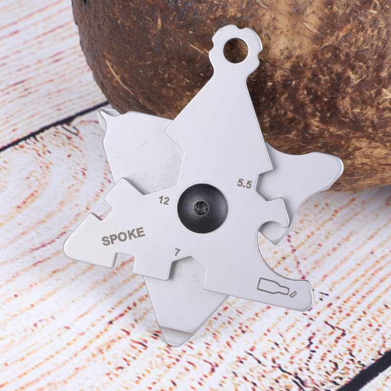 2019 Outdoor Stainless Skull EDC Survival Pocket Tool Amazing Multi-functional Tools Key Ring Chain Bottle Opener