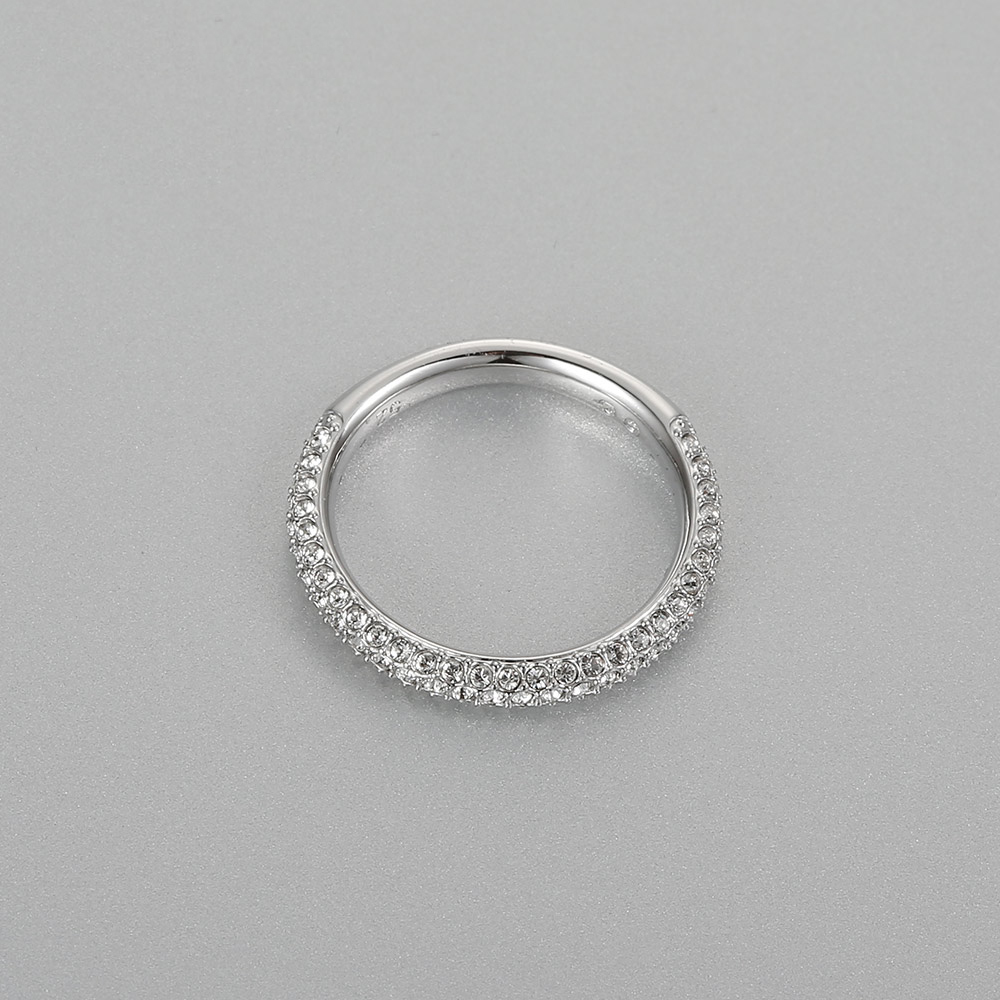 High quality SWA original 1 1 best material inlaid Fashion Lady Ring in Rings from Jewelry Accessories