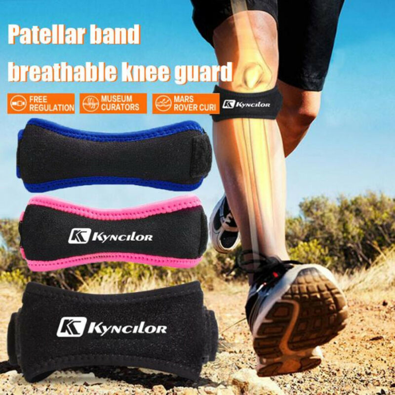 Soft Brace Knee Protector Belt Adjustable Patella Tendon Strap Support Guard