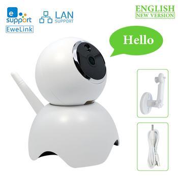 EWelink умная камера беспроводная WiFi умная камера домашняя двухсторонняя аудио мини ночного видения LAN сеть смарт-видеоняня