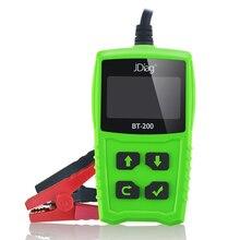 JDiag – outil de Diagnostic automatique, testeur de batterie de voiture, analyseur de batterie, démarrage et charge, BT200 12V