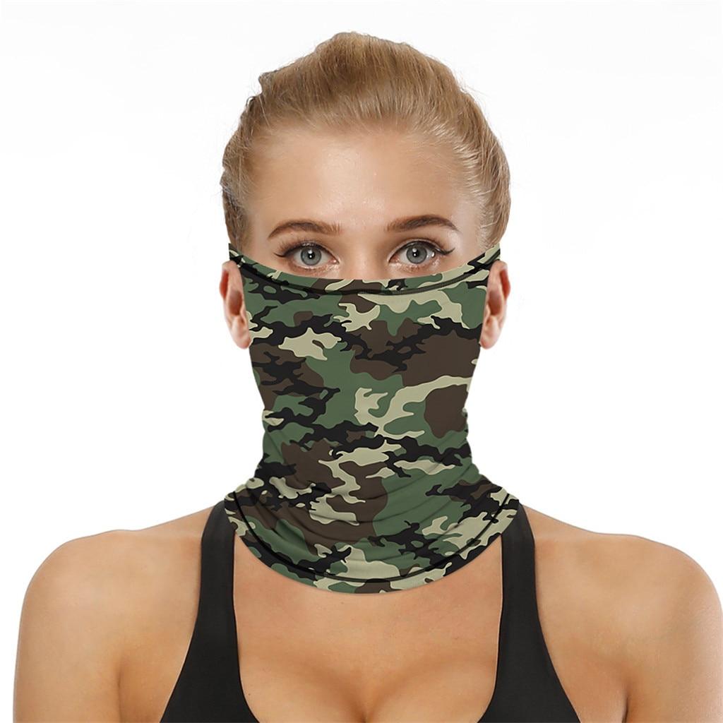 Stylish Printed Dustproof Scarf Mask 30