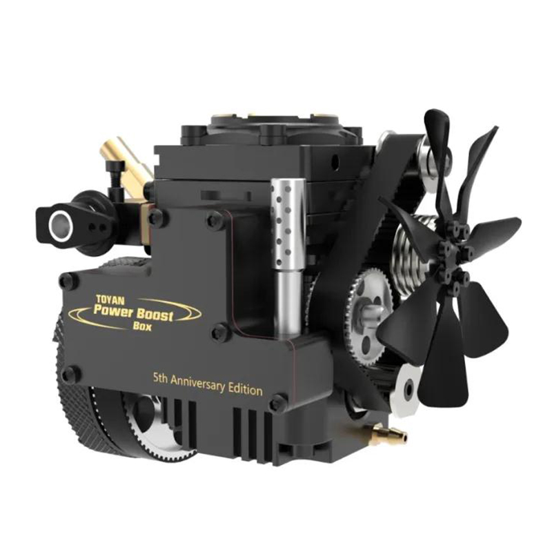 TOYAN ENGINE FS-S100AT Visual Combustion Engine Combustion Chamber Fifth Anniversary Edition