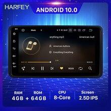 Harfey 7 นิ้ว 4 + 64GB Android 10.0 วิทยุสเตอริโอสำหรับSuzuki Jimny 2006 2007 2012 1Din GPSรถเครื่องเล่นมัลติมีเดียWifi